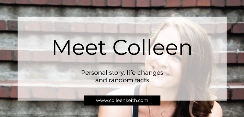 meet colleen of colleen keith design, about colleen, about me, personal story, life changes, random facts