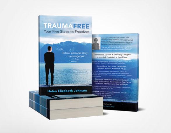 Book Cover Design for Trauma Free