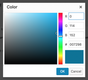 hex code colour picker