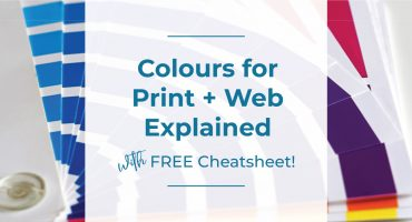 colours for print and web explained, colleen keith design, pms, cmyk, rgb, hex codes
